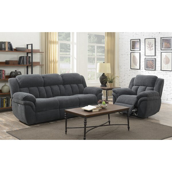 Kimmel Reclining 2 Piece Living Room Set by Winston Porter