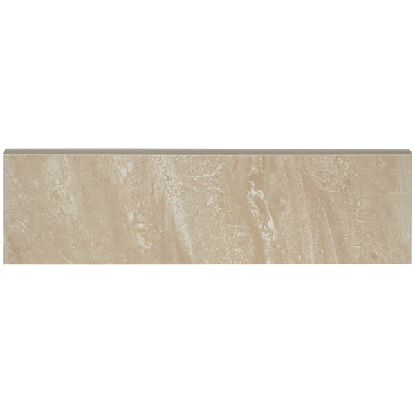 Florentine 10 x 3 Ceramic Bullnose Tile Trim in No
