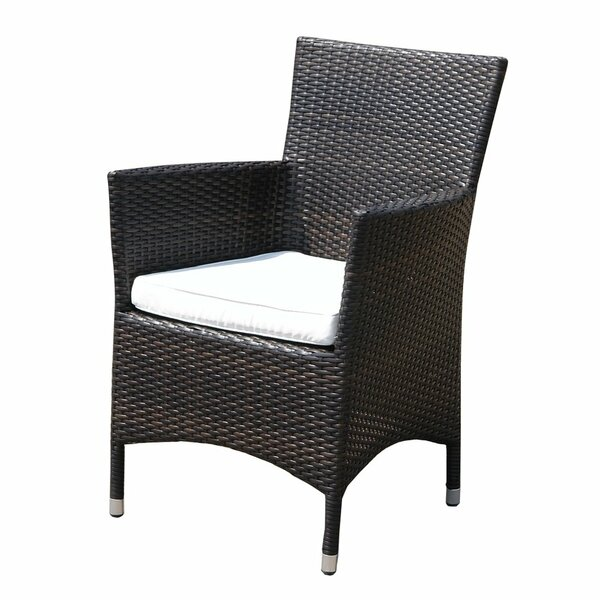 Hebden Patio Chair with Cushion (Set of 2) by Highland Dunes