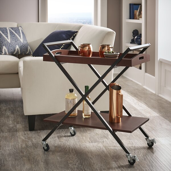Fontes Bar Cart by George Oliver
