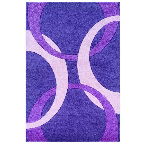 Purple Area Rug by Threadbind
