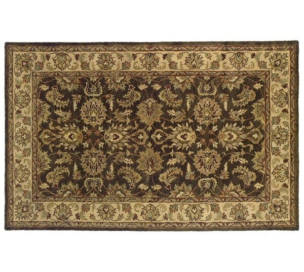 Meadow Breeze Dark Brown Rug by Continental Rug Company