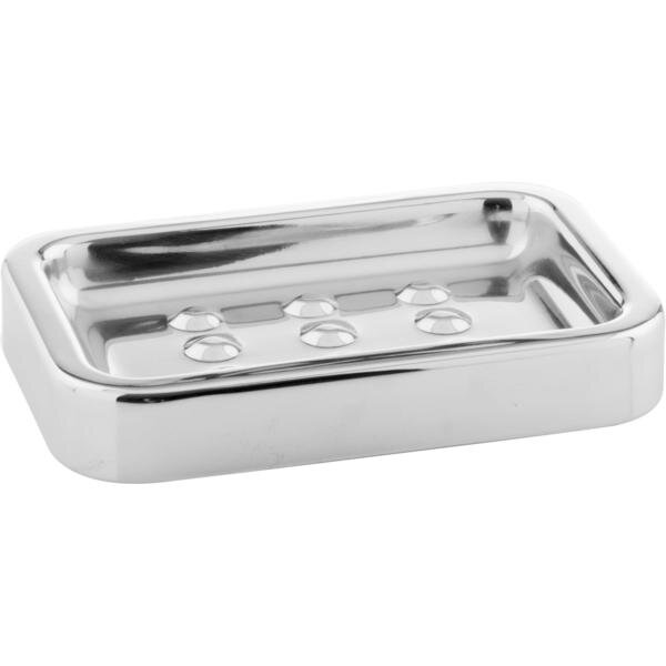 Crabill Steel Stainless Steel Soap Dish by Ebern Designs
