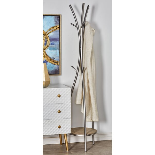 Borasisi Curved Coat Rack by Orren Ellis