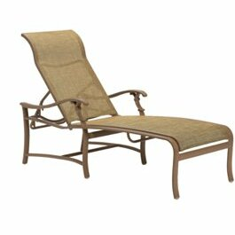 Ravello Reclining Chaise Lounge by Tropitone