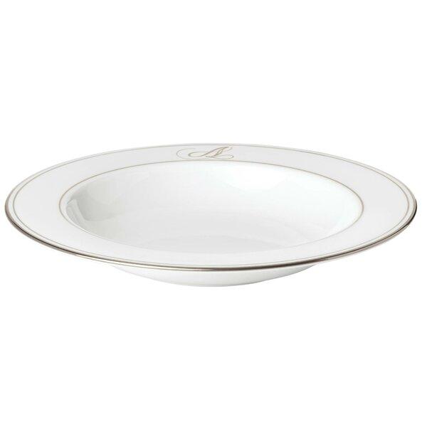 Federal Monogram Soup Bowl by Lenox