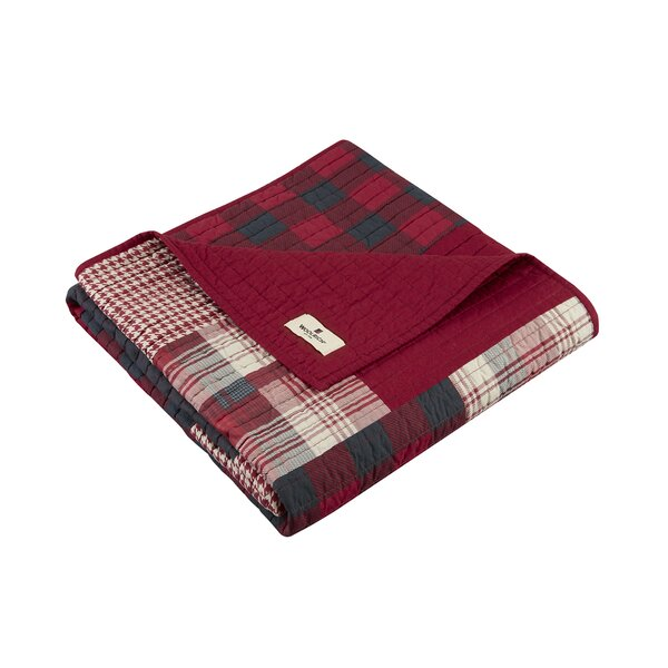 Winter Hills Quilted Cotton Throw by Woolrich