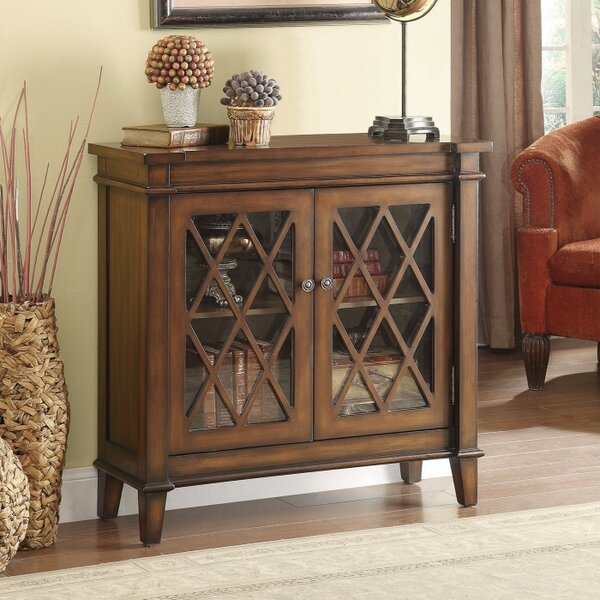 Ritter Fine Looking 2 Door Accent Cabinet by Charlton Home
