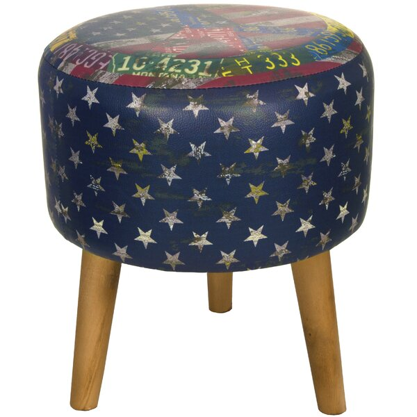 Americana Stool by Oriental Furniture