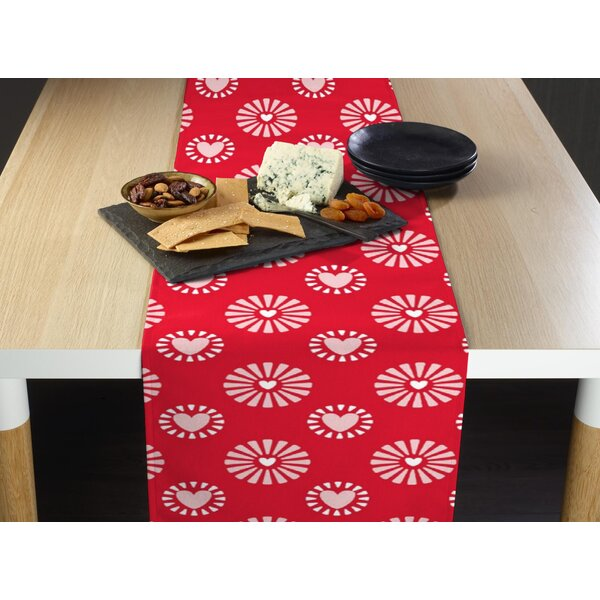 Espey Hearts in Bloom Table Runner by The Holiday Aisle