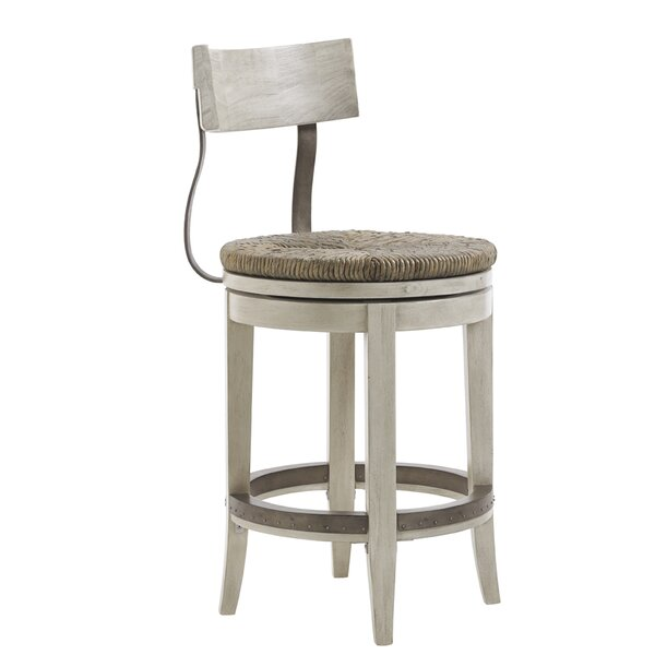Oyster Bay 24 Swivel Bar Stool by Lexington