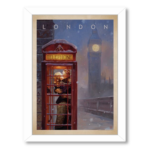 London Kai Carpenter Framed Vintage Advertisement by East Urban Home
