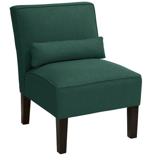Georgine Slipper Chair by Darby Home Co Darby Home Co