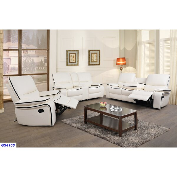Cilla 3 Piece Reclining Living Room Set by Latitude Run