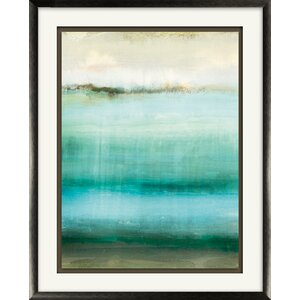 'Hazy Impressions II' Framed Painting Print by Wade Logan