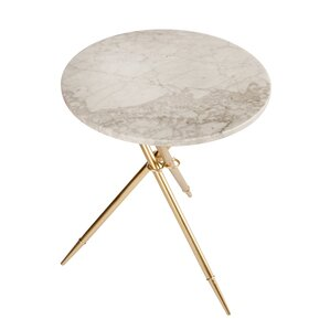 Steele Marble End Table by Mercer41
