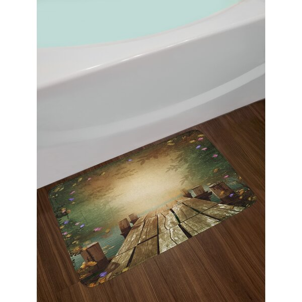 Coming Spring Bath Rug by East Urban Home