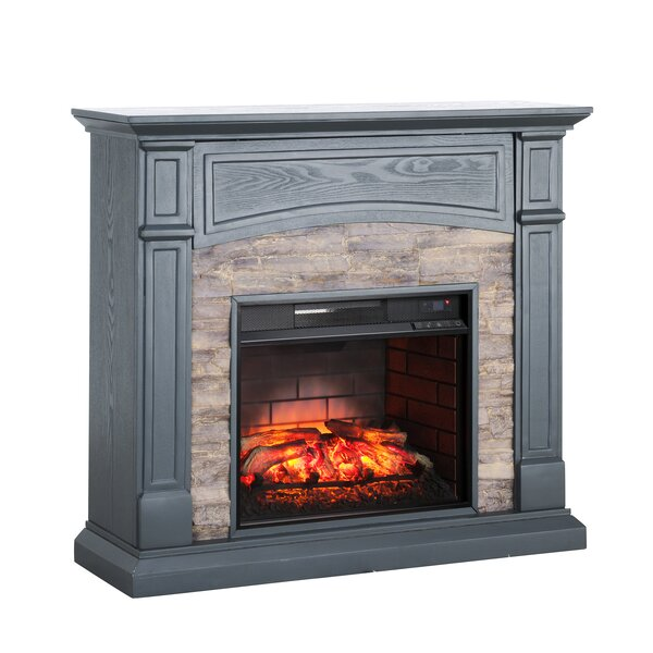 Dawn Infrared Electric Fireplace by Alcott Hill