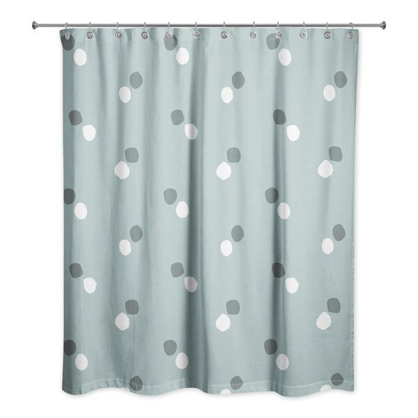 Rainier Dots Shower Curtain by Latitude Run