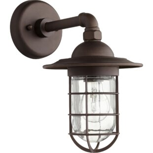 Price comparison Bowery 1-Light Armed Sconce By Quorum