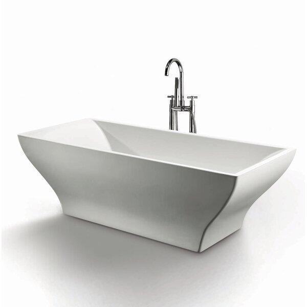 Ash 70 x 31.5 Soaking Bathtub by Jade Bath