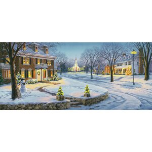 'Home for the Holidays' by Darrell Bush Painting Print by Hadley House Co