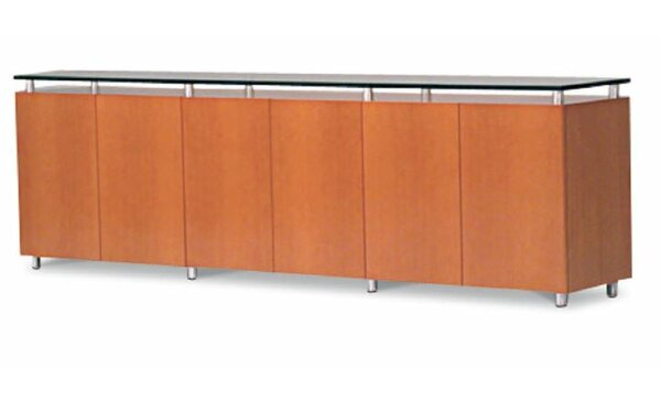 All Door 120 Credenza by Woodtech