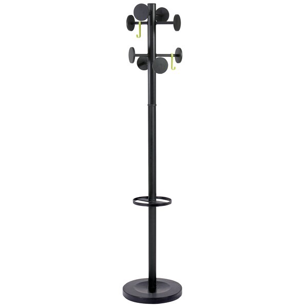 Stan 3 Modern 8 Peg Coat Rack by Alba