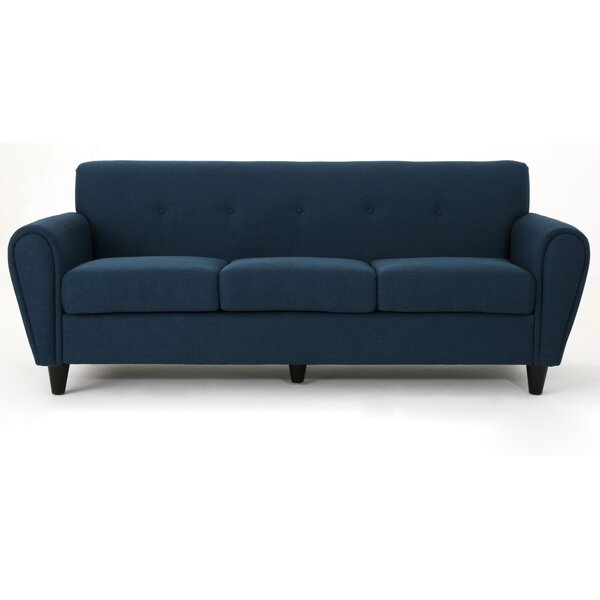 Peirce Buttoned Traditional Sofa by Ebern Designs