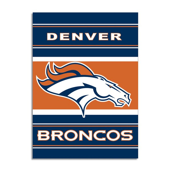 NFL 2-Sided Polyester 11 x 9 in. House Flag by NeoPlex