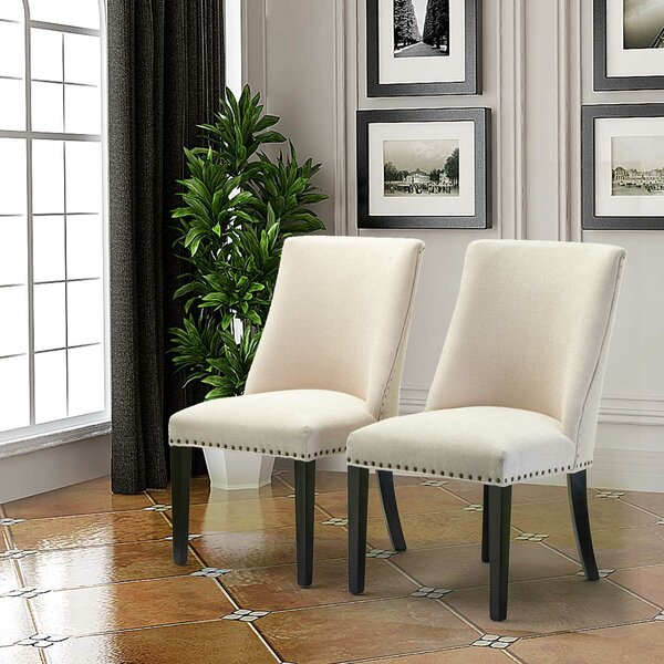 Review Martinelli Upholstered Dining Chair (Set Of 2)