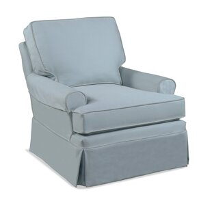Belmont T Cushion Swivel Glider Armchair Slipcover