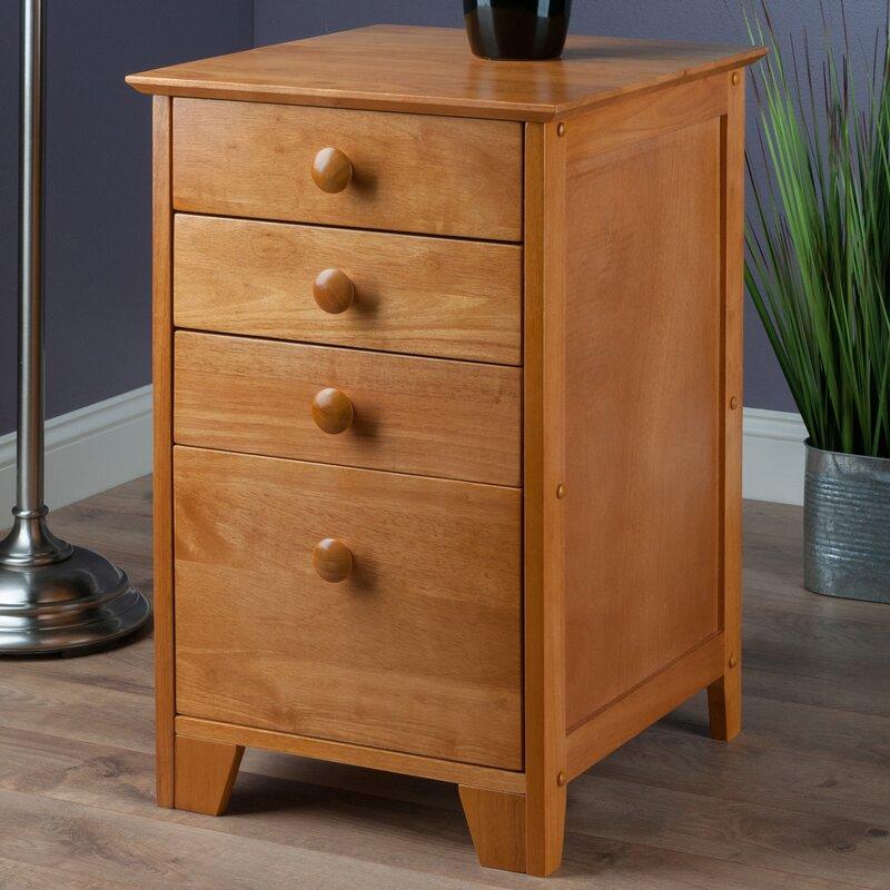 Hilderbrand 4 Drawer Home Office File Cabinet