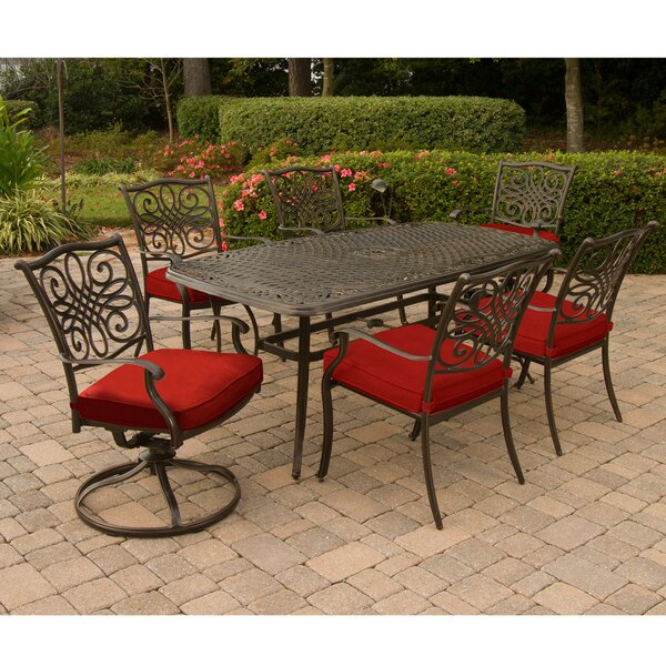 Raby Traditions 7 Piece Dining Set by Astoria Grand