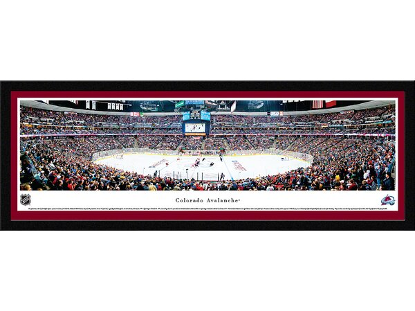 NHL Colorado Avalanche by Christopher Gjevre Framed Photographic Print by Blakeway Worldwide Panoramas, Inc