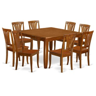 Parfait 9 Piece Extendable Dining Set by Wooden Importers