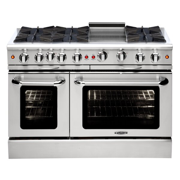 Culinarian Series 48 4.9 cu. ft. Freestanding Gas with Griddle