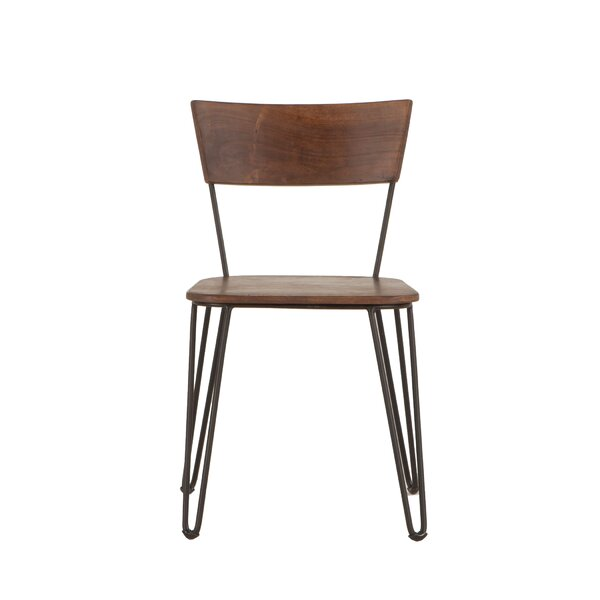 Nikhil Solid Wood Side Chair (Set of 2) by Union Rustic Union Rustic