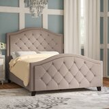 Elora Upholstered Standard Bed byWilla Arlo Interiors