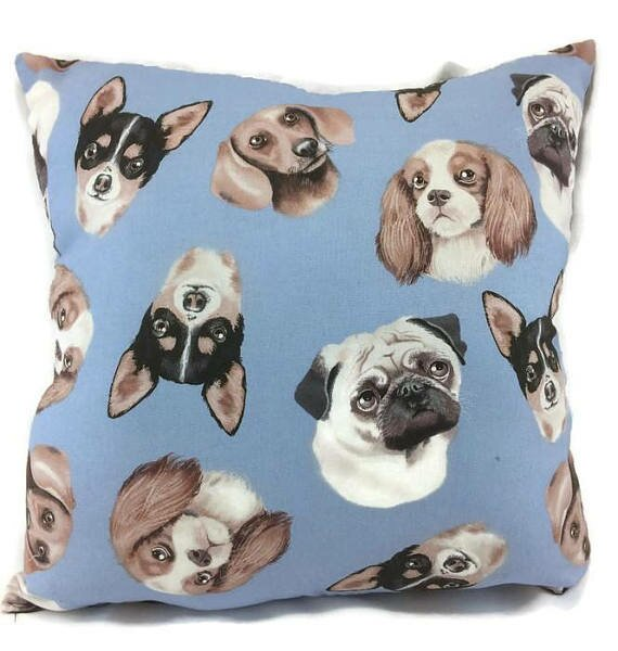 Toy Dog Throw Pillow by East Urban Home