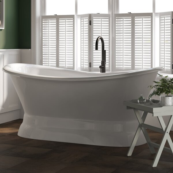 72 x 30 Freestanding Bathtub by Cambridge Plumbing