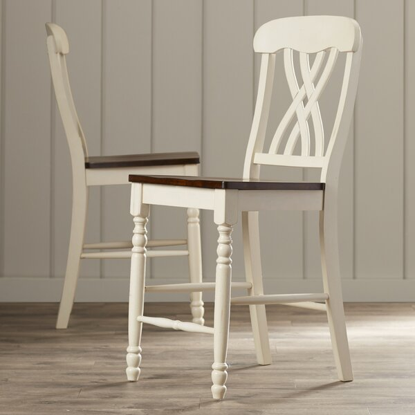 Sisson 24 Bar Stool (Set of 2) by Andover Mills