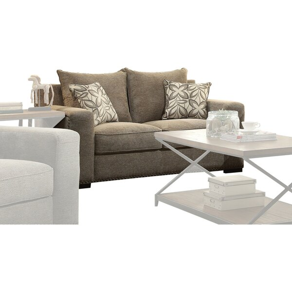 Massasoit Upholstered Loveseat by Darby Home Co