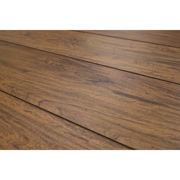 Geneva 8.5 x 48 x 8mm Elm Laminate Flooring in Light Brown by Branton Flooring Collection