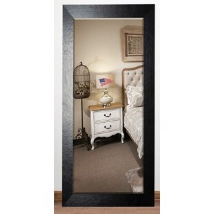 Leather Beveled Wall Mirror ByDarby Home Co