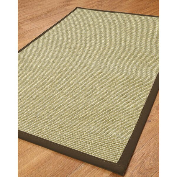 Hibiscus Light Green Solid Area Rug by Natural Area Rugs