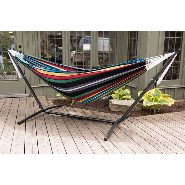 Dorinda Double Hammock with Stand by Beachcrest Ho