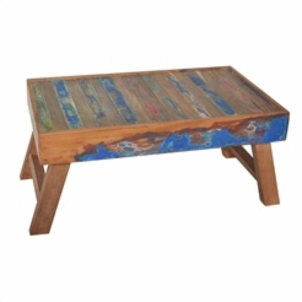 Etten Repurposed Wood Breakfast Tray with Folding Leg by Bungalow Rose