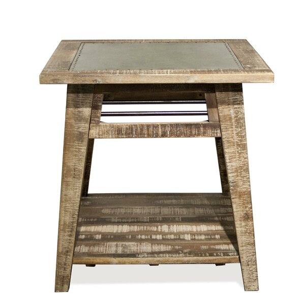 Rowan End Table by 17 Stories