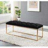 Tremendous Dining Bench With Brass Legs Wayfair Beatyapartments Chair Design Images Beatyapartmentscom